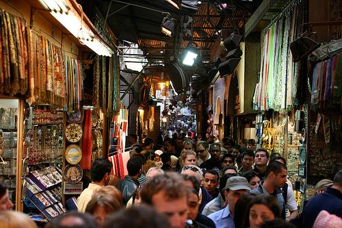 Восточная сказка - рынок Хан-Эль-Халили в Каире